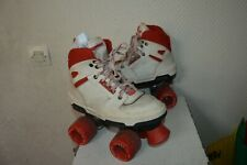 ROLLER QUAD ROLLER SKATE  TAILLE 35 / UK 2 PATIN A ROULETTE