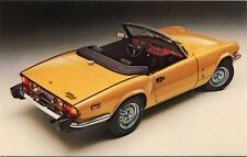 1970s Triumph Spitfire 1500 Automobile Sports Car Dealer Factory Postcard