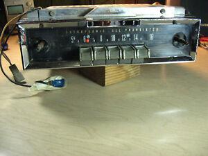 1963-1964 Dodge 880 AM Radio - Mopar 350 Bendix 03BD Astrophonic All Transistor