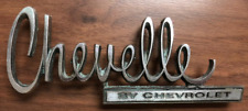 Original  Chevelle by Chevrolet 1970 metal emblem OEM 8791686