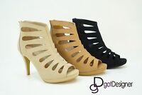 New Women's Fashion Platform Chunky Block High Heel Sandals Party Dress Shoes
