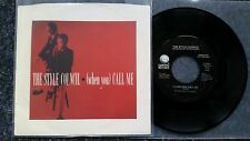 The Style Council (Paul Weller/ Jam) - (When you) Call me 7'' Single US PROMO
