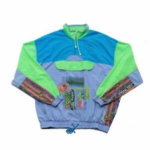 ADIDAS X (SHAWN) STUSSY Very Rare 80's Vintage Light Jacket