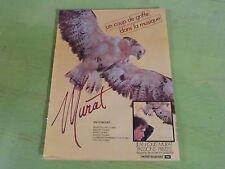 JEAN LOUIS MURAT - PASSIONS PRIVEES  !! RARE PUBLICITE!!!!!!!!!!!!!!!!!
