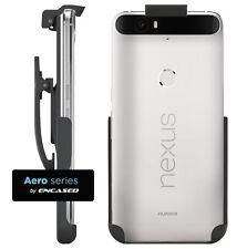 Nexus 6P Spring Clip Belt Holster - Case Free Design Encased® Lifetime Black New