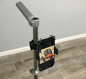Disc Golf Cart Cell Phone Holder Mount Clamp On Mount bag back pack