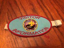 BSA National Scout Jamboree 2001Vistor Information Patch/Shoulder Band