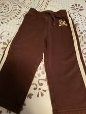 Jumping Beans brand boys size 24 month sweatpants (brown)