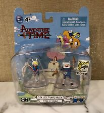 2012 SDCC Exclusive Adventure Time Finn & Fionna Collector's Pack figure set