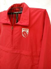 AMERICAN ASSOCIATION EQUINE PRACTITIONERS 1/3 ZIP RED JACKET XL EMBROIDERY LOGO