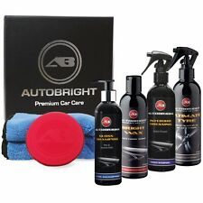 Carnauba Car Wax Gift Box Detailing Kit Autobright Christmas Present