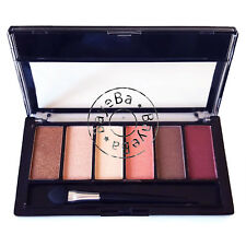 Royal Eyes Eye Shadow Eyeshadow 6 Shade Palette Nude Pink Rose Peach Brown Cream