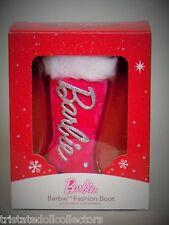 2014 BARBIE PINK FUR BOOT American Greetings COLLECTOR HEIRLOOM Ornament_NRFB