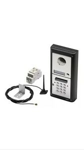 videx gsm pro intercom with built in keypad for electric gate automation