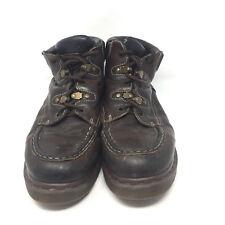 Dr Doc Martens Lace Up Ankle Boots Mens UK 12 US 13 Comfort Moc Toe 8507