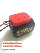 H battery adapter for DeWALT Flexvolt 60V max dock power connector 12 gauge 54