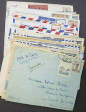 EDW1949SELL : MOROCCO Collection of 31 commercially Used covers Many interesting