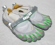 Vibram FiveFingers Size 38 Womens Gray Green W345 Cute Barefoot Running PIJ HTF
