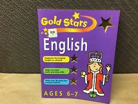 New Gold Stars English Ages 6-7 Learning Workbook Home School Support Skills
