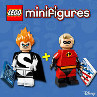LEGO Minifigures Disney #71012 - M Indestructible + Syndrome - 100% NEW / NEUF
