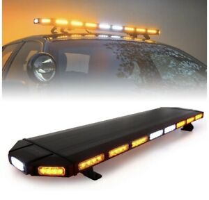 """NEW WHELEN LED COMPATIBLE 48"""" A/A LEDS LIGHTBAR 5YR WARRANTY TOW TRUCK SNOW PLOW"""