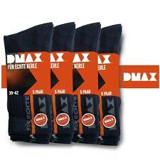 DMAX 20 Paar Sonderposten Allrounder Arbeitssocken Blau 39-42/43-46, Sonderpreis
