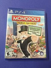 Monopoly Family Fun Pack (PS4) NEW