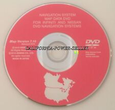 7.7 Update 2006 2007 2008 Infiniti FX35 FX45 FX Navigation DVD Map US Canada CD