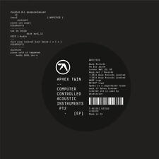 APHEX TWIN COMPUTER CONTROLLED ACOUSTIC INSTRUMENTS CD NEW