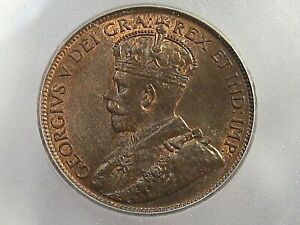 1919 Large Cent CANADA ICG MS64 RB. #14