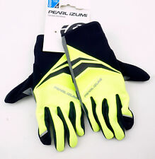 Pearl Izumi Men's Elite Softshell Cyclone Gel Cycling Gloves XXL Yellow Black