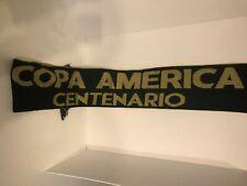 Copa America Centenario 2016 Scarf   CONMEBOL CONCACAF   Black Gold   Unisex  