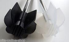 LOTUS Silikon WC Bürste - Borstenlos - transparent oder schwarz