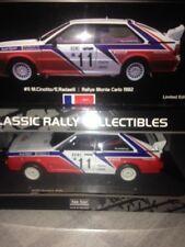 Audi Quattro Rally MONTE CARLO 1982 #11  SN 452/769 SUNSTAR 4199