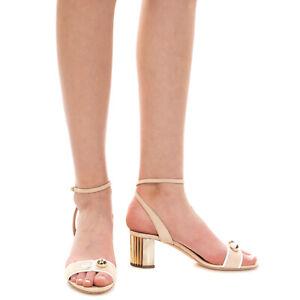 RRP €860 GIORGIO ARMANI Suede Leather Ankle Strap Sandals EU 38 UK 5 US 8 Beads