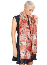 Pañuelos de mujer rojos de seda