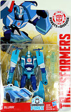 Transformers Warrior Class ~ Autobot BLURR Action Figure ~ Robots in Disguise