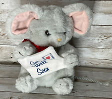 """Russ Vintage Berrie Get Well Soon Mouse 8"""" Plush"""