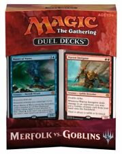 MAGIC MtG - DUEL DECKS BOX - MERFOLK VS. GOBLINS