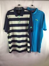 Adidas/Puma Golf Polo Shirt Stretch Mens Xl-2 Lots