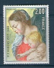 TIMBRE 1958 NEUF XX LUXE - RUBENS LA VIERGE A L'ENFANT