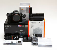Sony Alpha A7 III A7III Mirrorless Digital Camera + G-C3EM Battery Grip & More!