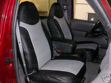 FORD RANGER 1989-1996  IGGEE S.LEATHER CUSTOM FIT SEAT COVER 13COLORS AVAILABLE