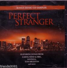 Perfect Stranger Bonus Sampler Soundtrack CD Toni Braxton Santana Rare OOP New