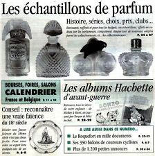 Échantillons de parfum,Faïences du 18ème,Lampes Berger*