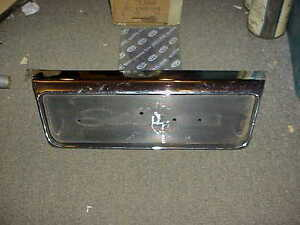 1966 Plymouth Satellite Chrome Rear Seat Back BASE/BEZEL MoPar Excellent Used