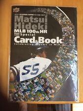 Hideki Matsui Upper Deck 100th HR Card Book Souvenir Japanese Yankees NEW