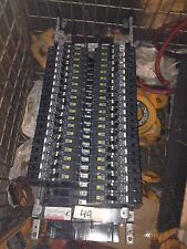 40x Square D 20A EJB14020 Circuit Breakers On Panel