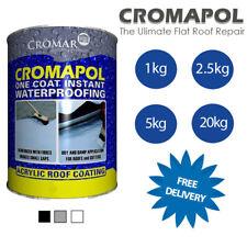 Cromapol | Acrylic Roof Coat | Roof Paint Sealant | Emergency Roof Repair