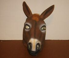 Hee Haw Jack Ass Mask Rubber Latex Used